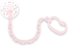 Pacifier Chain Baby Rose
