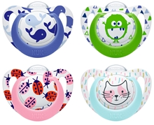 Pacifier Genius Si Color Mixed Colours