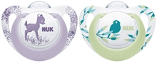Pacifier Genius Colour Silicon Girl