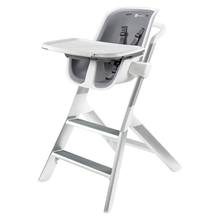 High Chair 2.1 - White/Gray