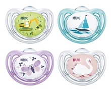 Pacifier Freestyle Si Mixed Colours