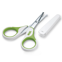 Baby Nail Scissors Green
