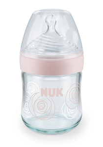 Nature Sense Glass Bottle 120 ml, Pink