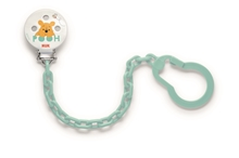 Pacifier Chain Disney Winnie the Pooh Turquoise