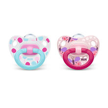 Pacifier happy Days Silicon Pink