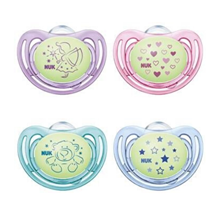 Pacifier Freestyle Silicon Mixed Colours