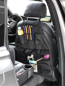 Car seat cover forward facing