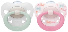 Pacifier Signature Si S1, rose/white