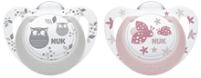 Pacifier Genius Color Si, Grey/Rose