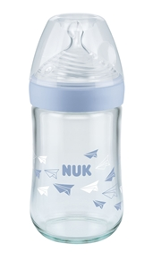 Nature Sense Glass Bottle 240 ml Blue
