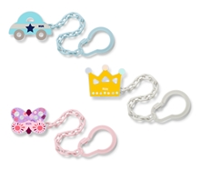 Pacifier Chain Mixed Colours