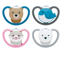 Pacifier Space Silicon S1 1-pack