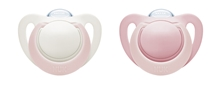 Pacifier Genius Silicon Pink/White