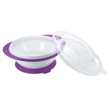 Easy Learning Eating Bowl Purple