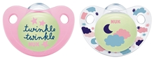 Pacifier Night/Day Si 2,1 DE S2 Girl 2/Box