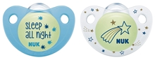Pacifier Night/Day Si 2,1 DE S2 Boy 2/Box