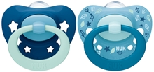 Pacifier Signature Si S2, blue/dark blue