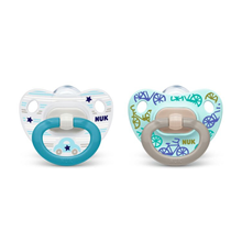Pacifier Happy Days Silicon Blue