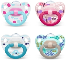 Pacifier Classic Si Happy Days Mixed Colours